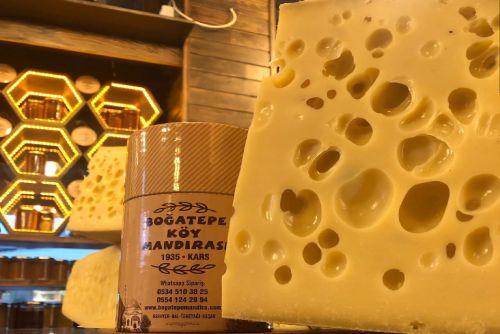 (250gr) Boğatepe Fermente Gravyer Peyniri